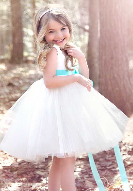 FATTIEPIE Grace Sassy Ivory Flower Girl Dress
