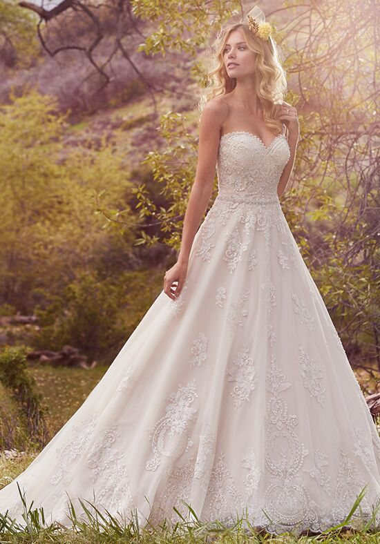 Maggie Sottero Reba A-Line Wedding Dress