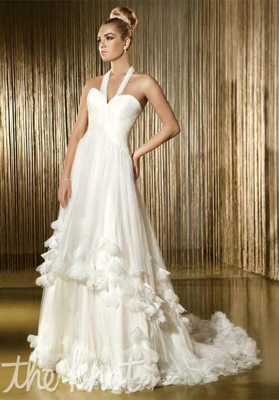 Demetrios 1419 A-Line Wedding Dress