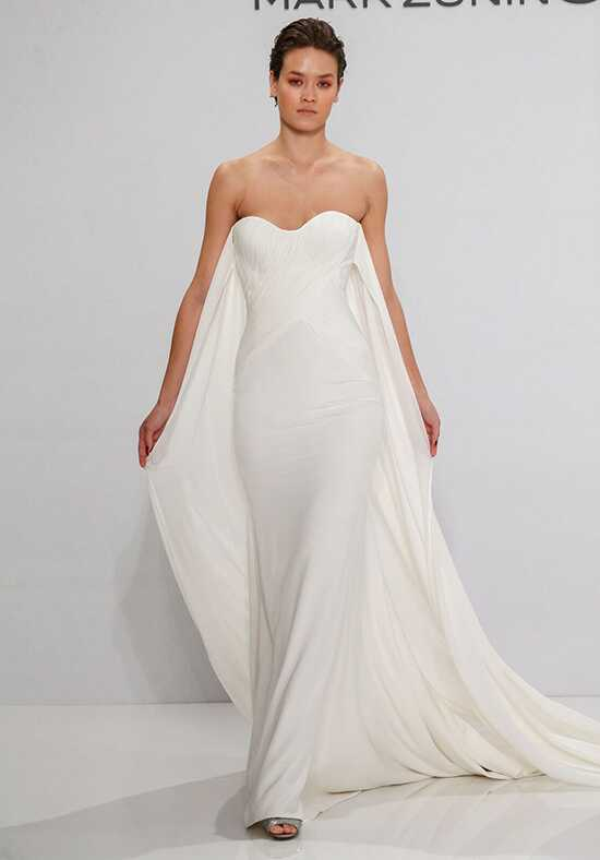 Mark Zunino for Kleinfeld 194 Sheath Wedding Dress