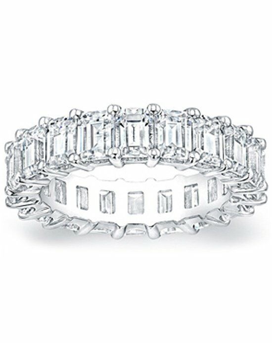 Since1910 Eternity Ring .33ct EM White Gold Wedding Ring