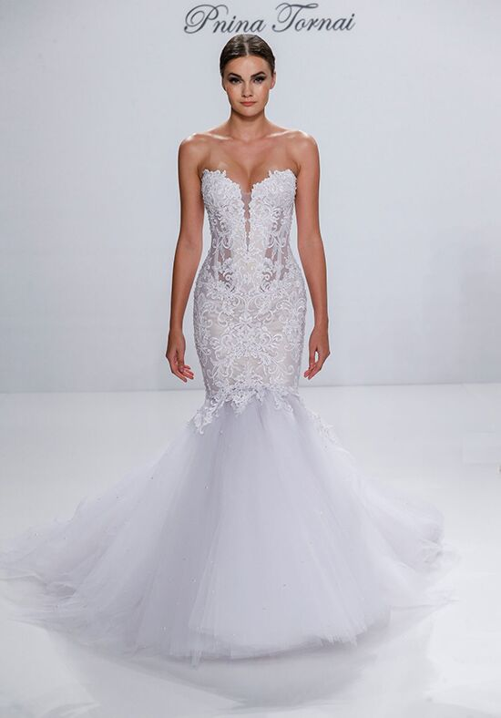 Pnina tornai for kleinfeld 4532 wedding dress the knot pnina tornai for kleinfeld 4532 mermaid wedding dress junglespirit