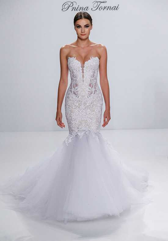 pnina tornai for kleinfeld 4532 mermaid wedding dress