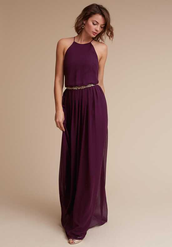 BHLDN (Bridesmaids) Alana_Chiffon Halter Bridesmaid Dress