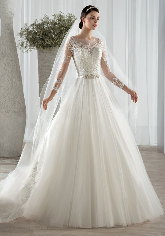 Demetrios 582 A-Line Wedding Dress