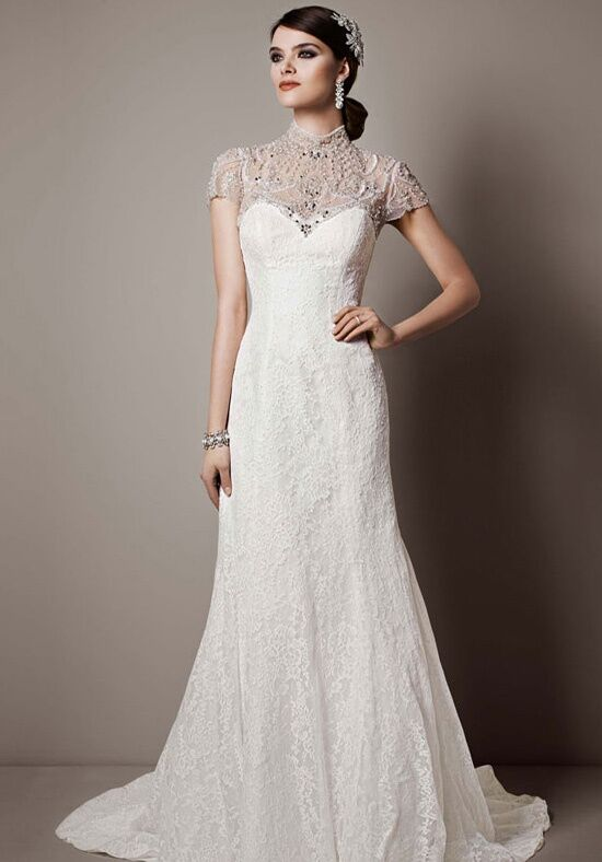 Davids bridal galina signature style swg648 wedding dress the knot davids bridal galina signature style swg648 sheath wedding dress junglespirit Images