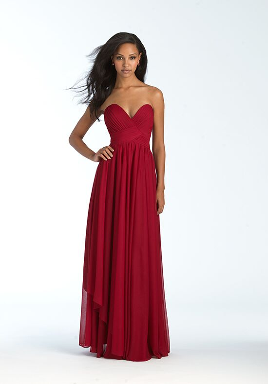 Allure Bridesmaids 1569 Strapless Bridesmaid Dress