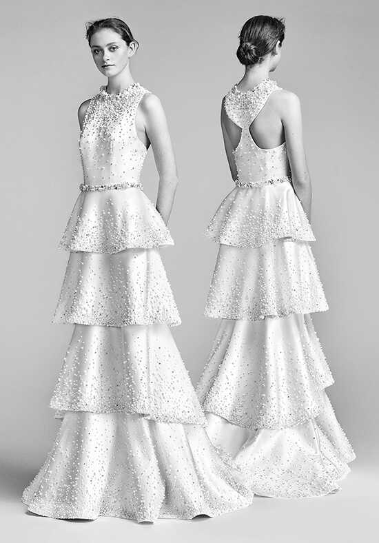 Viktor&Rolf Mariage Bejewelled Tiffany Back A-Line Wedding Dress