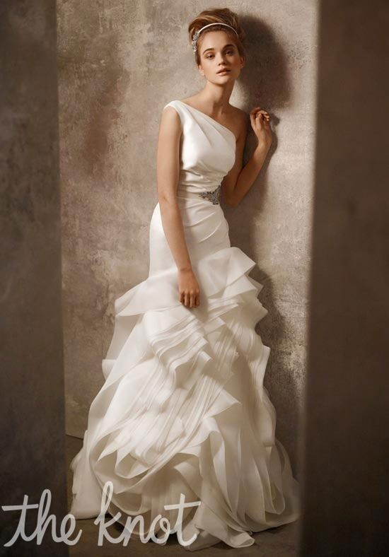 White by Vera Wang VW351010 Mermaid Wedding Dress