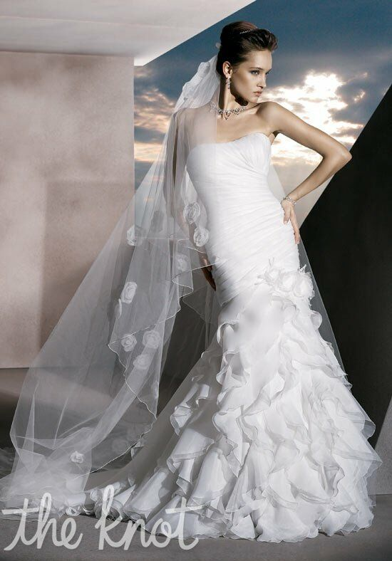 Demetrios 3171 Mermaid Wedding Dress