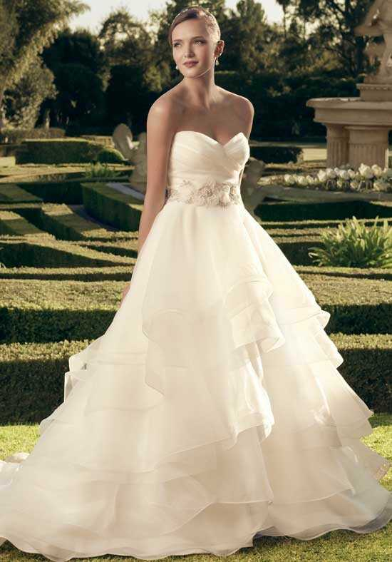 Casablanca Bridal 2174 A-Line Wedding Dress