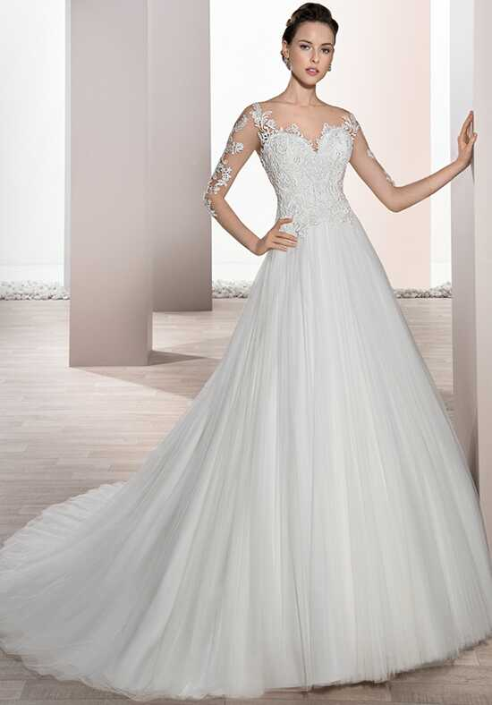 Demetrios 676 Ball Gown Wedding Dress