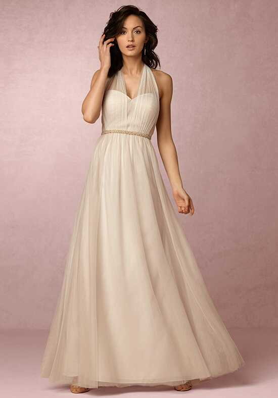 BHLDN (Bridesmaids) Annabelle_Champagne Bridesmaid Dress