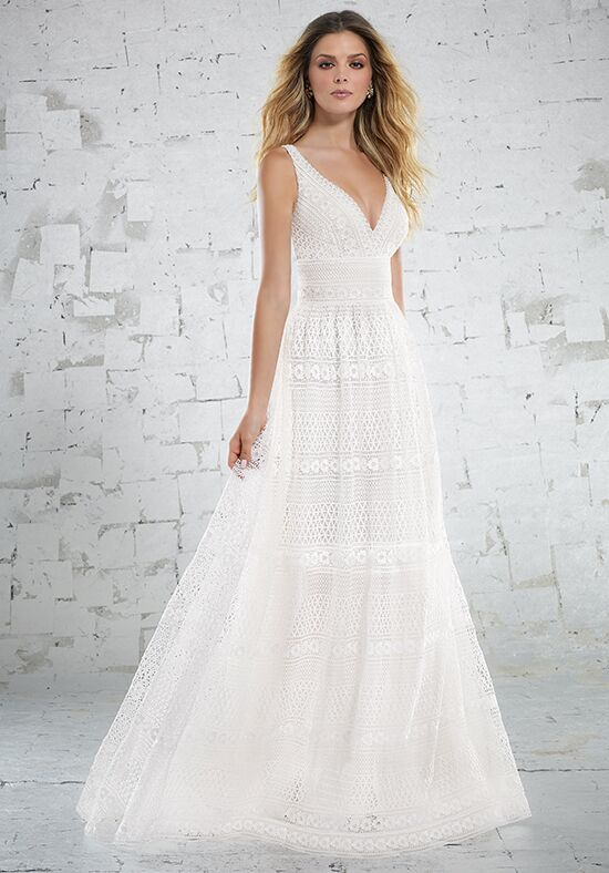 Morilee by Madeline Gardner/Voyage Katriane/6887 A-Line Wedding Dress
