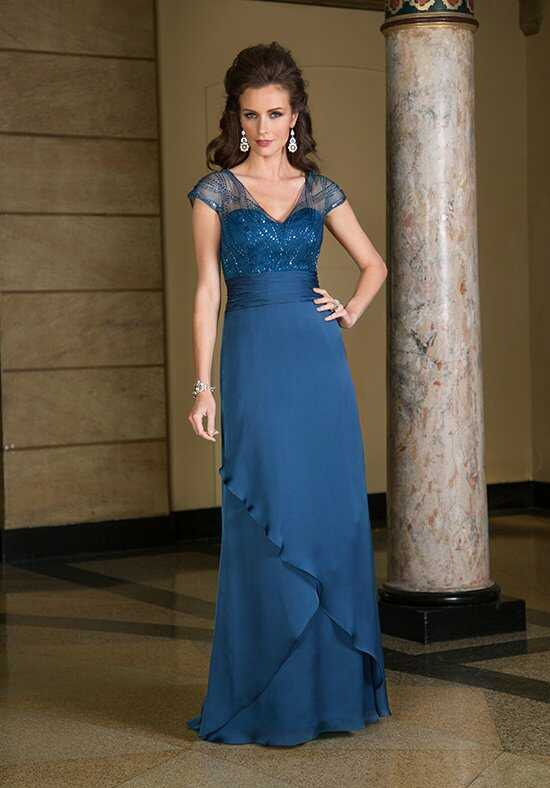 Jade Couture K168066 Blue Mother Of The Bride Dress