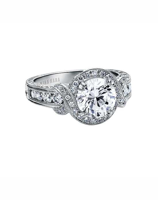 Kirk Kara Pirouetta Collection K250R8R Engagement Ring photo