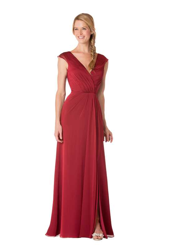Bari Jay Bridesmaids 1712 V-Neck Bridesmaid Dress