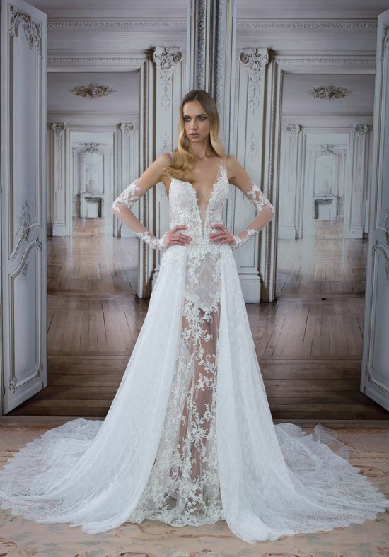 LOVE by Pnina Tornai for Kleinfeld 14503 Sheath Wedding Dress