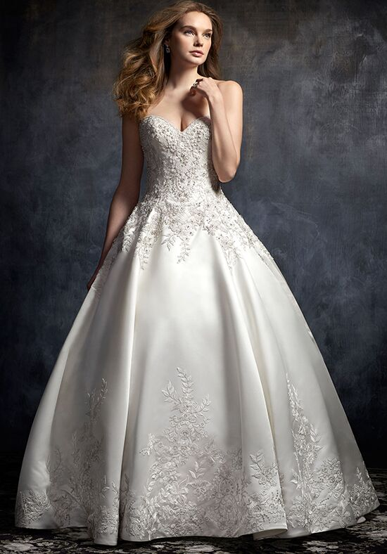 Kenneth Winston 1749 Ball Gown Wedding Dress