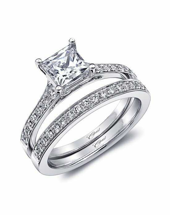Coast Diamond Classic Princess Cut Engagement Ring