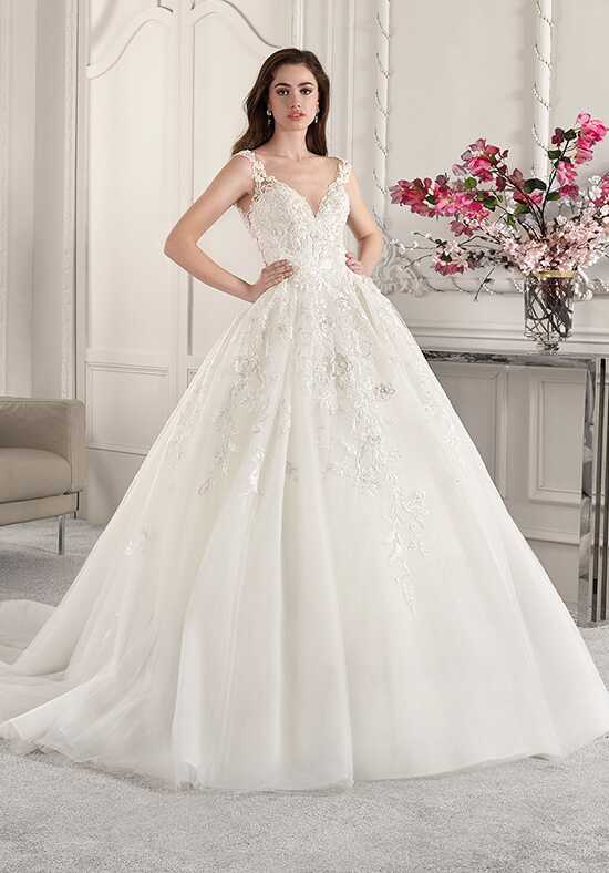 Demetrios 830 Ball Gown Wedding Dress