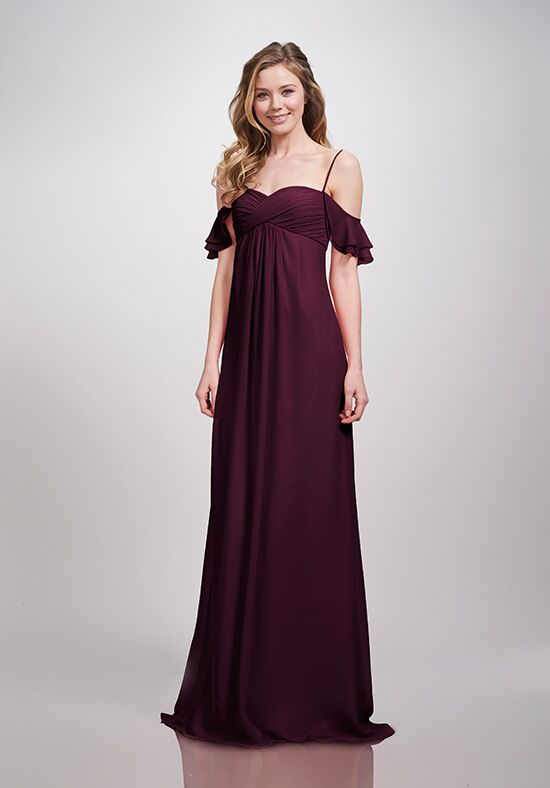 THEIA Bridesmaids Riley Off the Shoulder Bridesmaid Dress