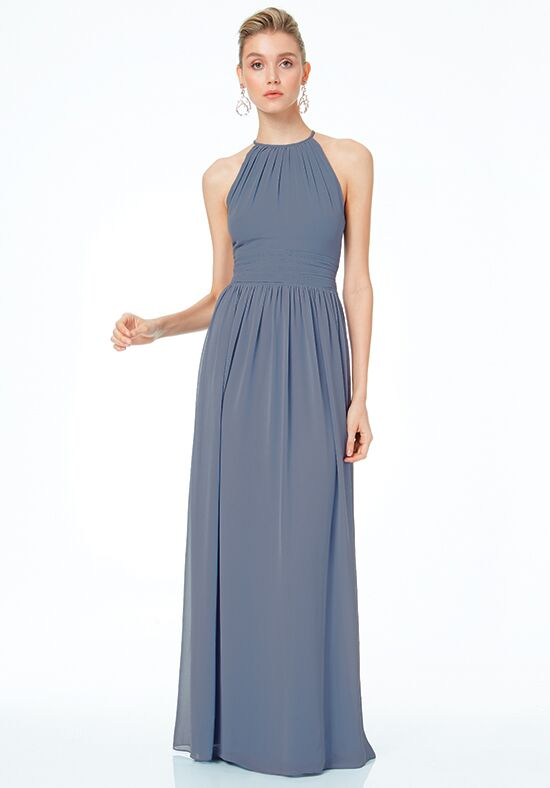 #LEVKOFF 7044 Halter Bridesmaid Dress