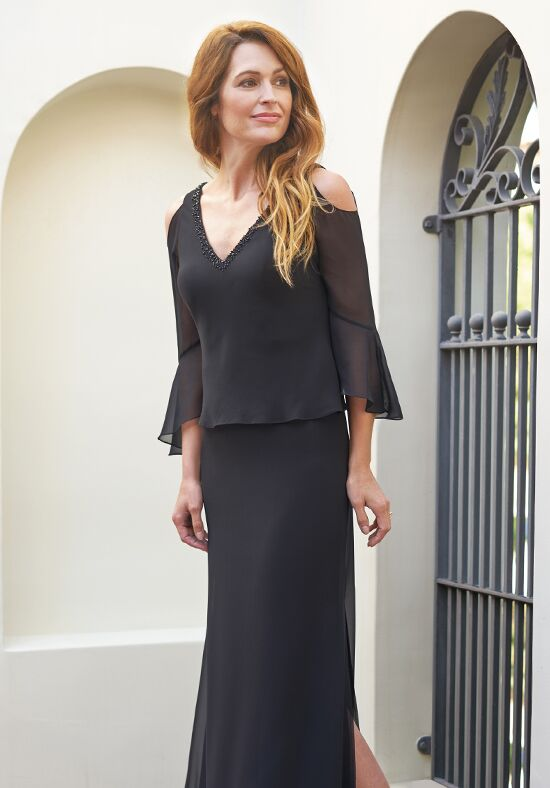 Jade J205055 Black Mother Of The Bride Dress