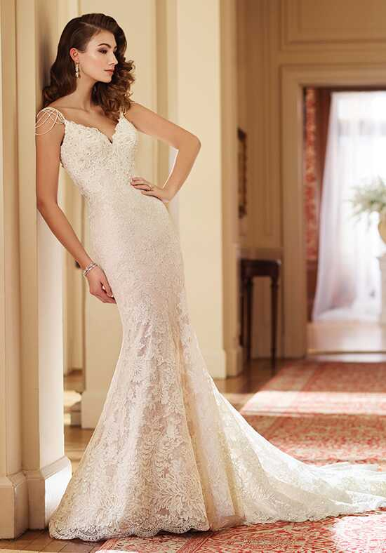 David Tutera for Mon Cheri 217228 Florence Mermaid Wedding Dress