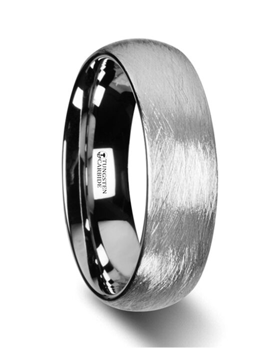 Mens Tungsten Wedding Bands W2971-DTWF Tungsten Wedding Ring