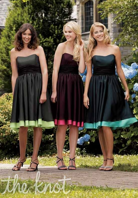 Jordan 123 Strapless Bridesmaid Dress