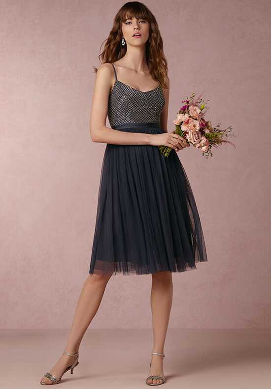 BHLDN (Bridesmaids) Coppelia-Blue Bridesmaid Dress