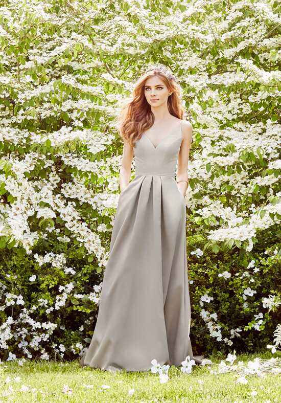 Hayley Paige Occasions 5665 V-Neck Bridesmaid Dress
