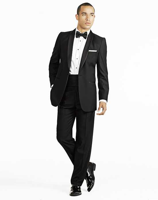 Generation Tux Black Shawl Lapel Tux Wedding Tuxedos + Suit photo