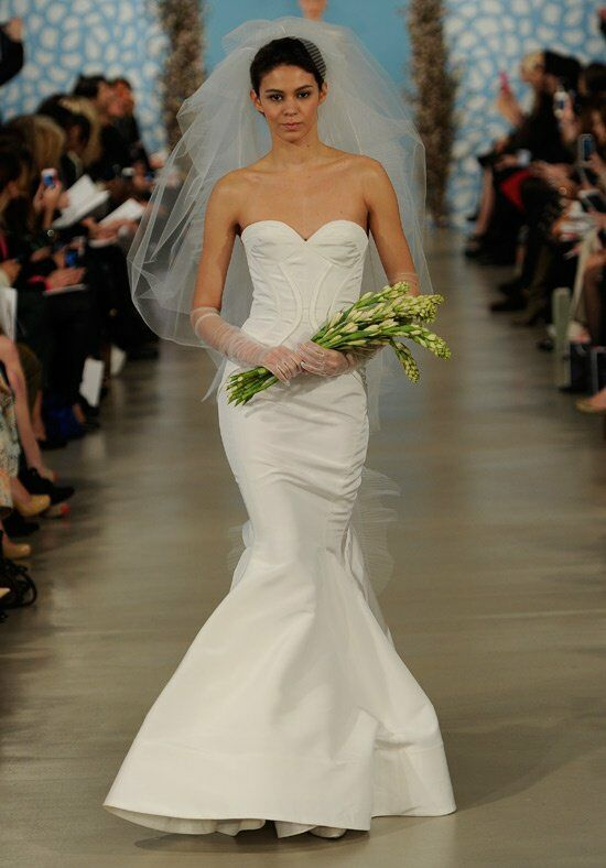 Oscar de la Renta Bridal 2014 Look 12 Mermaid Wedding Dress