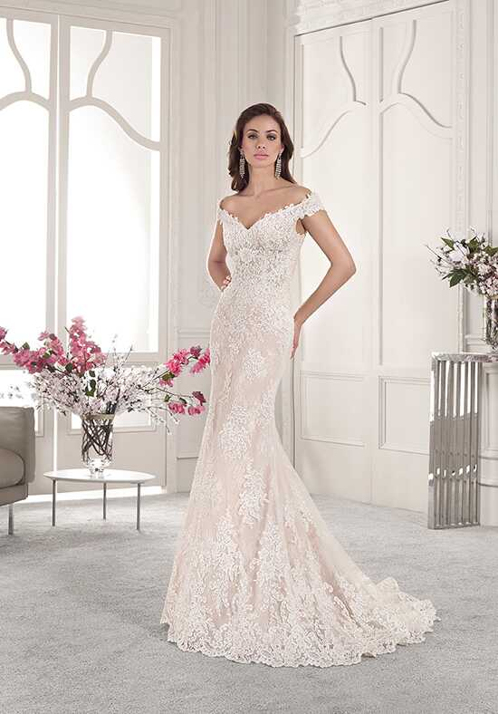 Demetrios 858 Mermaid Wedding Dress
