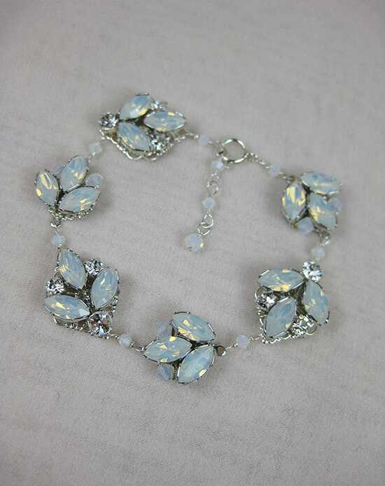 Everything Angelic Chandra Bracelet - b178 White Opal Wedding Bracelet photo