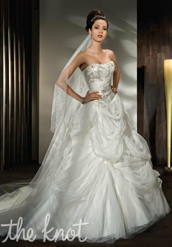 Demetrios 2844 Ball Gown Wedding Dress