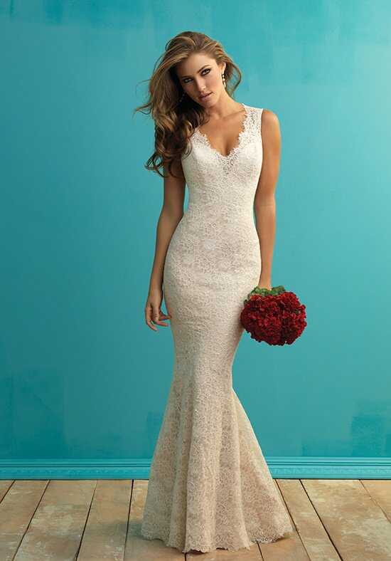 Allure Bridals 9253 Sheath Wedding Dress