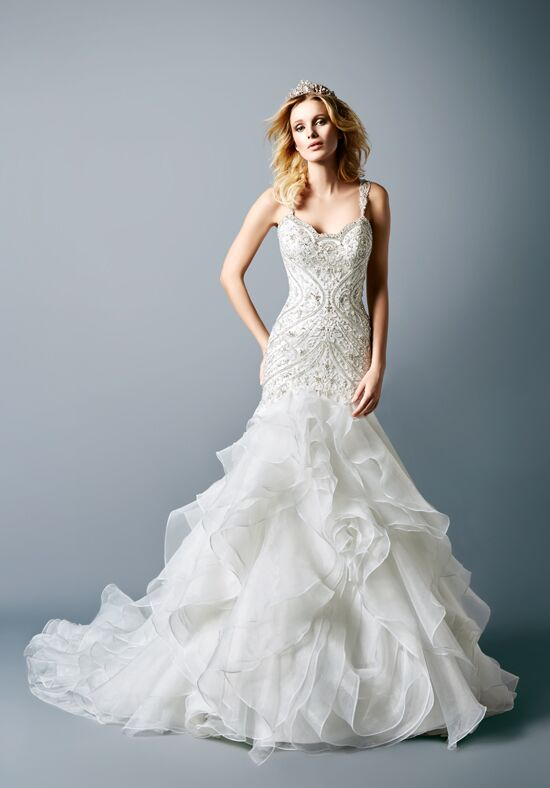 Val Stefani D8116 Mermaid Wedding Dress