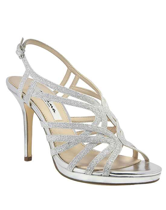 Nina Bridal Wedding Accessories Raisa_Silver Silver Shoe