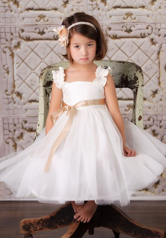 FATTIEPIE Emma Ivory Flower Girl Dress