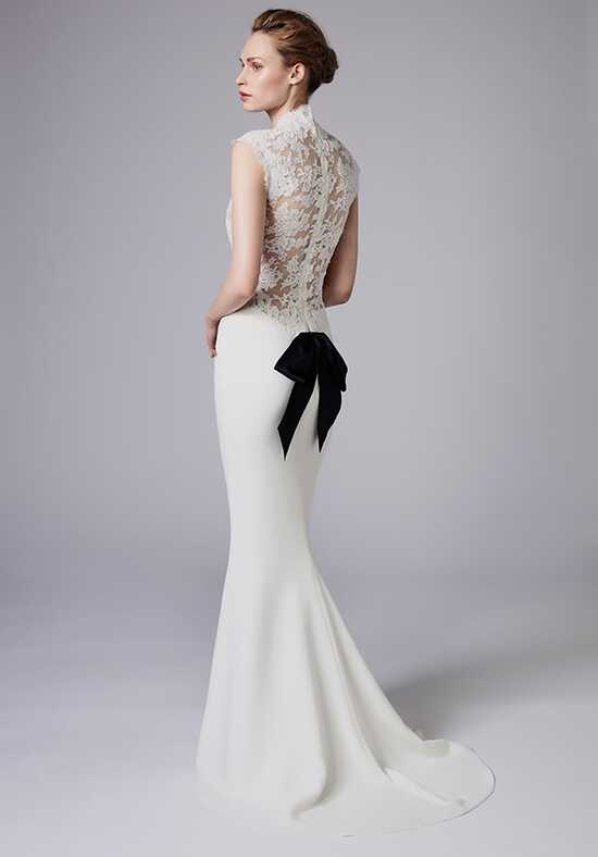Reem Acra Elegance Sheath Wedding Dress