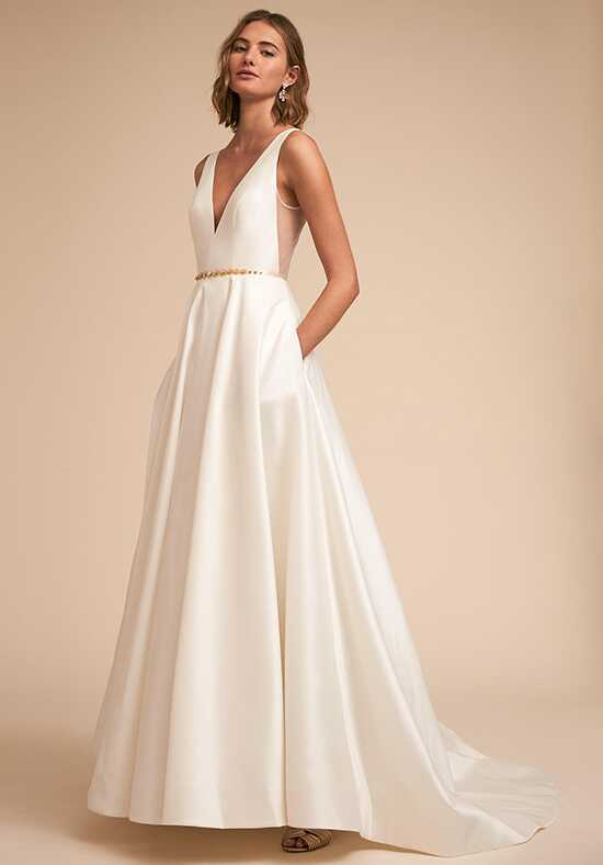 BHLDN Octavia Gown A-Line Wedding Dress