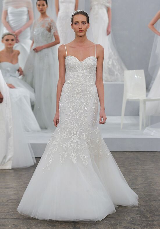 Monique Lhuillier Emmeline Mermaid Wedding Dress