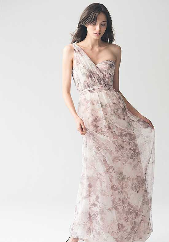 Jenny Yoo Collection (Maids) Nyla Print {Lavender Multi} #1681P Sweetheart Bridesmaid Dress