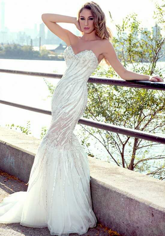 Stephen Yearick KSY89 Mermaid Wedding Dress