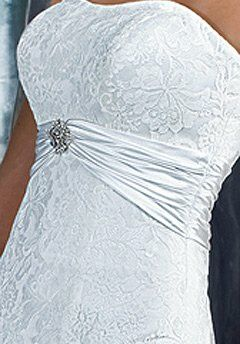DaVinci Bridal 8345 Mermaid Wedding Dress