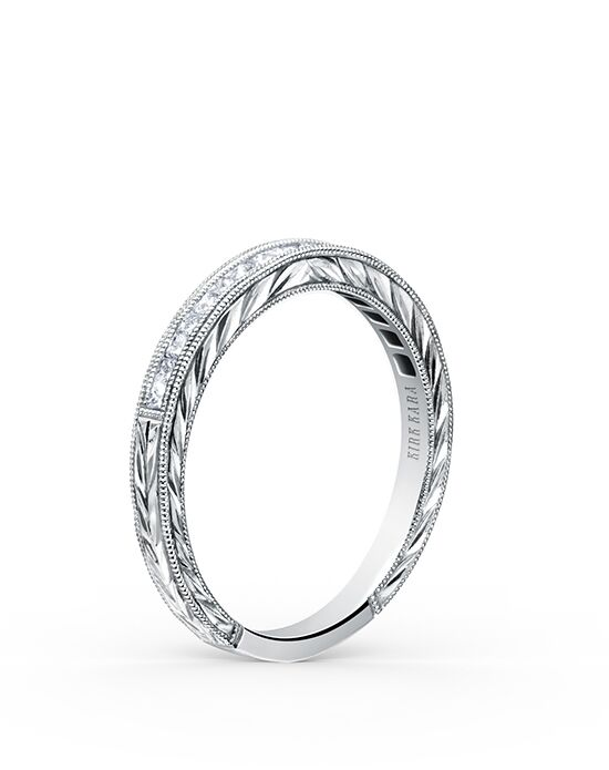 Kirk Kara Carmella Collection SS6996-B White Gold Wedding Ring
