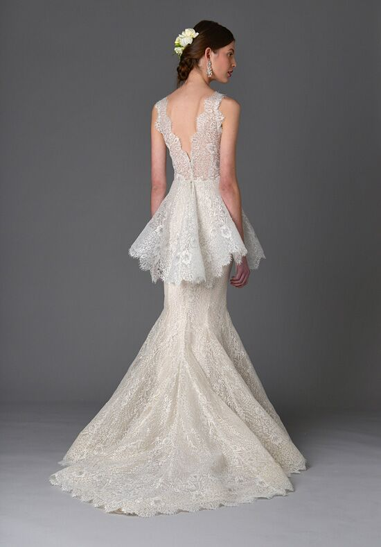 Marchesa lavender wedding dress the knot for Marchesa wedding dress prices